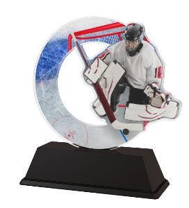 Plaketa hokej - brankáø - ACLC2101M44