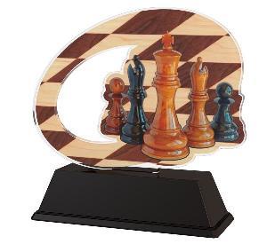 Plaketa šachy - ACLC2102M23
