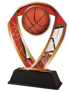 Plaketa basketbal - ACRC001M8
