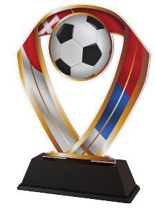 Plaketa fotbal SK - ACRC001M14