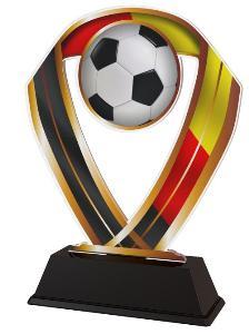 Plaketa fotbal D - ACRC001M15