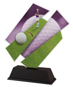 Plaketa golf - ACZC001M5 - zvìtšit obrázek
