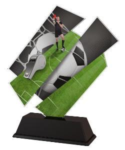 Plaketa fotbal - rozhodèí - ACZC001M14 - zvìtšit obrázek
