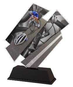 Plaketa cyklistika - ACZC001M17 - zvìtšit obrázek