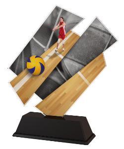 Plaketa volejbal - ACZC001M10
