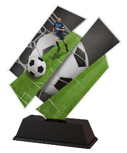 Plaketa fotbal - ACZC001M1