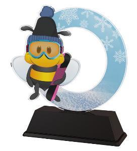 Plaketa snowboard - AKEKC001M12