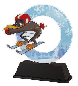 Plaketa lyže - AKEKC001M19 - zvìtšit obrázek