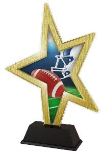 Plaketa rugby - STAR002M2 - zvìtšit obrázek