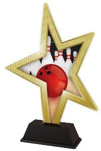 Plaketa bowling - STAR002M3 - zvìtšit obrázek