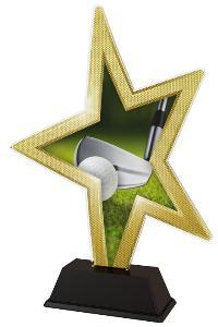 Plaketa golf - STAR002M11 - zvìtšit obrázek