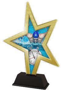 Plaketa plavání - STAR002M12 - zvìtšit obrázek