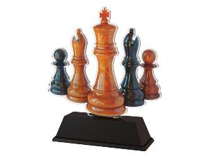 Plaketa šachy - FA210M9 - zvìtšit obrázek