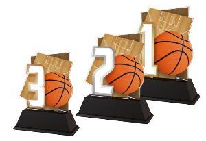 Plaketa basketbal - NCUF001M4 - zvìtšit obrázek
