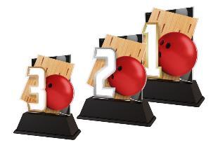 Plaketa bowling - NCUF001M6 - zvìtšit obrázek