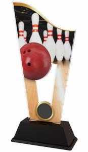 Bowlingová plaketa - CASM06