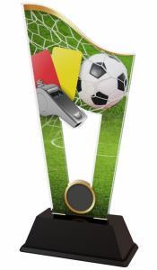 Fotbalová plaketa - rozhodèí - CASM17