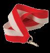 Stuha na medaili - bílo èervená