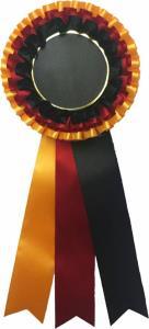 Kokarda - žluto-èerveno-èerná K29