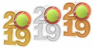 Medaile - tenis - MDA2019M02