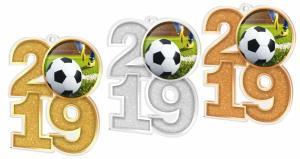 Medaile - fotbal - MDA2019M05