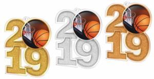 Medaile - basketbal - MDA2019M06