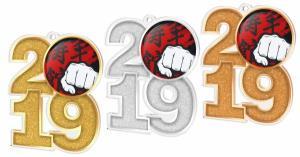 Medaile - karate - MDA2019M14 - zvìtšit obrázek