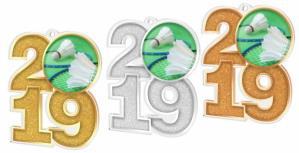 Medaile - badminton  - MDA2019M18 - zvìtšit obrázek