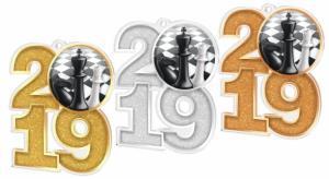 Medaile - šachy - MDA2019M29 - zvìtšit obrázek