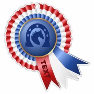 Medaile - jezdectví - MDAC0010M30