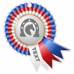 Medaile - jezdectví - MDAC0010M32