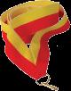 Stuha na medaili - èerveno žlutá