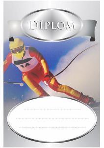 Diplom lyžování - sjezd - DP0007 - zvìtšit obrázek
