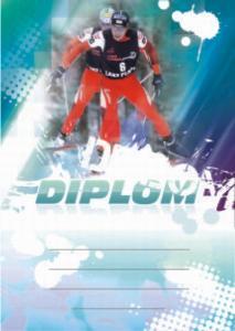 Diplom lyžování - bìžky - 6651