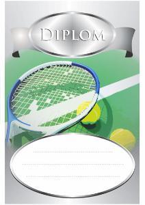 Diplom tenis - DP0006