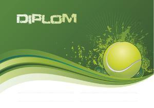 Diplom tenis - DP0013