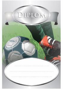Diplom fotbal - DP0009