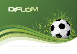 Diplom fotbal - DP0014
