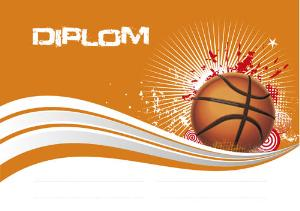 Diplom basketbal - DP0019