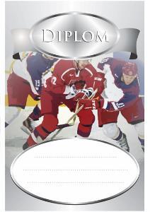 Diplom hokej - DP0011