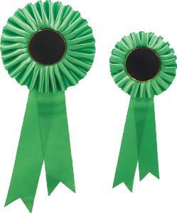 Kokarda - zelená K0002