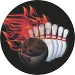 Emblém bowling - 63