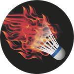 Emblém badminton - 69