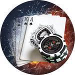 Emblém poker - 74