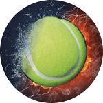 Emblém tenis - 76