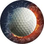 Emblém golf - 84