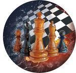 Emblém šachy - 90
