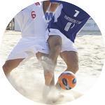 Emblém plážový fotbal - 111