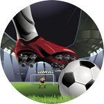Emblém fotbal - 120