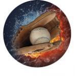 Emblém baseball - 96